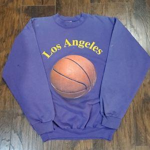Vintage 80's Los Angeles Crewneck Sweater